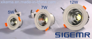 Recessed COB LED Downlight 5W 7W 12W pictures & photos