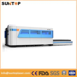 1000W Sheet Metal Laser Cutting Machine, Dual Exchange Working Table, Full Enclosed Model pictures & photos