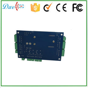 RFID Network TCP/IP 2 Doors Access Controller Board with Free Software for Door Security System pictures & photos