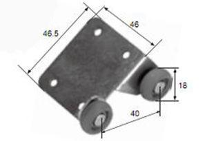 Best Professional Design Roller R8068 for Aluminum Door & Window pictures & photos