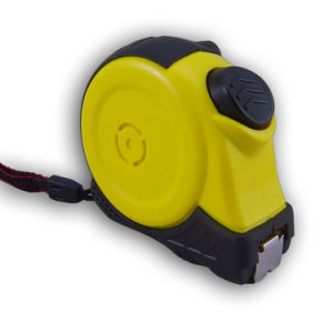 Auto Lock Rubber Coated Measuring Tape with Magnetic Tip Mte1005 pictures & photos