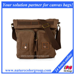 High Quality 100% Genuine Leather Male Messenger Bag (MSB-029) pictures & photos
