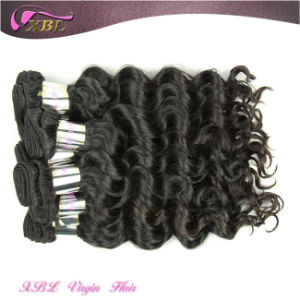 Human Hair Tangle Free Natural Virgin Indian Temple Hair pictures & photos
