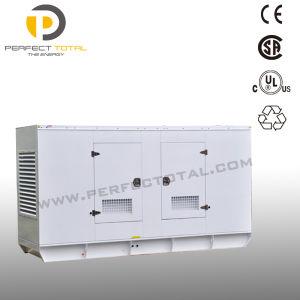50Hz 125kVA Soundproof Diesel Generator with Cummins Engine