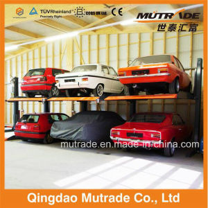 Asian Updated Two Tiers Parking Lift for Singapore Specially pictures & photos