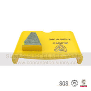 Metal Diamond Pads Concrete Grinding Shoe for HTC Machine pictures & photos