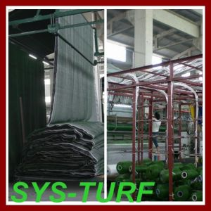 Football Soccer Monofilament Spine Shape Artificial Grass pictures & photos