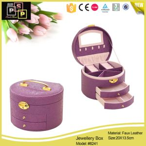 Cylinder Packaging Korean Ornaments Multi Layer Jewellry Box pictures & photos