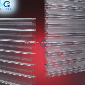 Lexan Clear Twin Wall Polycarbonate Plastic pictures & photos