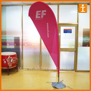 Outdoor Advertising Blade Flag with Base (TJ-23) pictures & photos