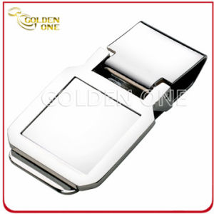 Promotion Gift Square Shape Nickel Plated Money Clip pictures & photos