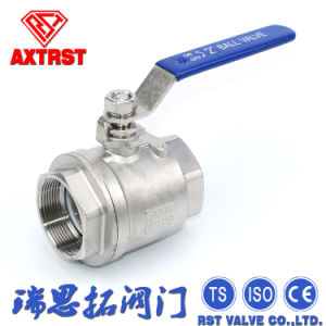 2PC Floating Full Port Thread Stainless Steel Ball Valve pictures & photos