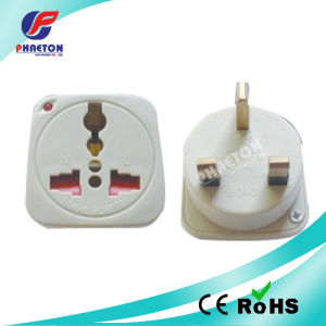 Multi Socket to 3 Pin UK Travel Power Adaptor Plug pictures & photos