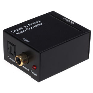 Digital Optical Coax Toslink to Analog Audio Converter pictures & photos