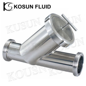Food Grade Stainless Steel Y Type Strainer pictures & photos