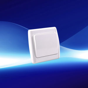 1 Gang European Wall Switch (YW21103) pictures & photos
