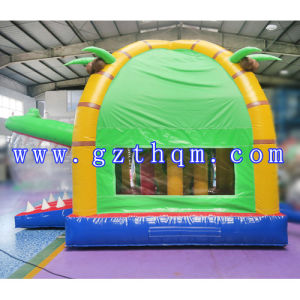 Commercial Inflatable Bouncer Slide Combo/Digital Printing Inflatable Bouncer Slide pictures & photos