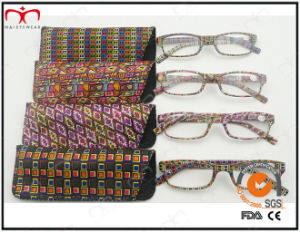 Latest Trendy Design Reading Glass with Pouch in Rainbow Color (WRP504198) pictures & photos