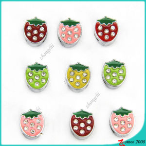 Cute Strawberry Fruit Slide Charms for Fashion Decoration (SC16040946) pictures & photos