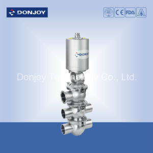 Four Way Pneumatic Reversing Valve with Mini Controller pictures & photos