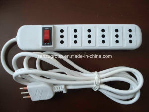 Good Price Italy 6 Way Power Strip Extension Socket pictures & photos