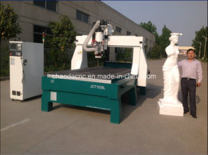 3D Wood/Stone/Foam Mould Furniture Sculpture Making Machine / 4 Axis CNC Milling Machine pictures & photos