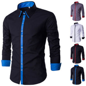 Fashion Autumn Hot Seller Mens Casual Dress Shirts (A438)