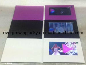 7inch LCD Screen Video Card for Promotion pictures & photos