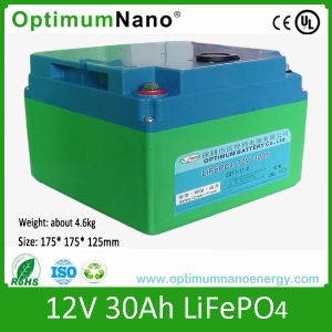 12V 30ah Li Ion Rechargeable Battery Pack pictures & photos