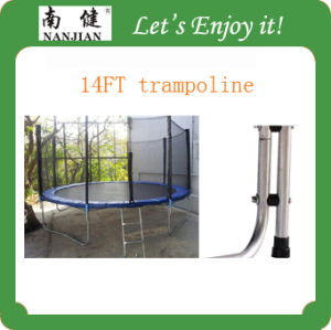 14ft Big Round Trampoline for Adults Outdoor Bungee Trampoline pictures & photos