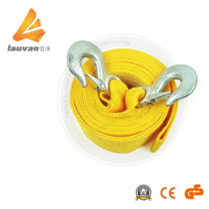Towing Rope for Car with Iron Hooks