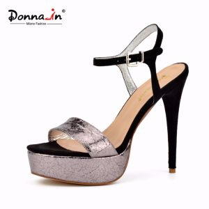 Lady Casual High Heels Platform Stiletto Dress Shoes Women Sandals pictures & photos