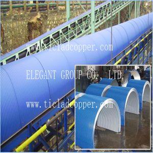 PC Sheet Belt Conveyor Rain Hood / Pd Cheet Waterproof and Dustproof Conveyor Belt Cover pictures & photos