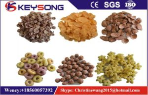 Industrial Breakfast Cereal Corn Flake Making Machine pictures & photos