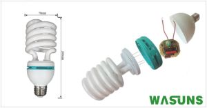 Good Quality 55W Half Spiral Energy-Saving Lamp pictures & photos
