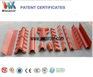 Wins PMMA Roof Tile for Living House Long Color Last pictures & photos