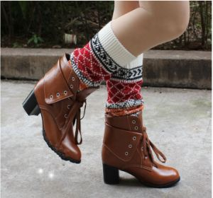 New Style Knit Leg Warmers Cuffs Socks Legwarmers pictures & photos
