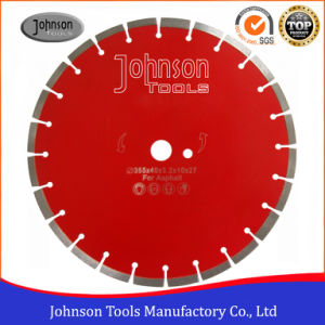Asphalt Cutting: 350mm Diamond Laser Welded Saw Blade for Asphalt pictures & photos