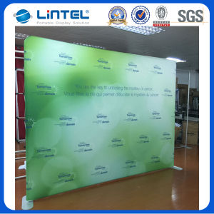 10FT Flat Tension Fabric Back Wall Stand 24q1 pictures & photos