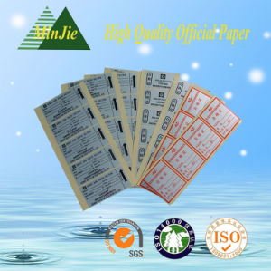 Wholesale Customised Rectangular Printed Labels Sticker pictures & photos