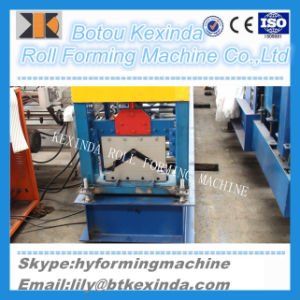 Hot Brands India High Effiency Roof Tile Ridge Cap Roll Forming Machine pictures & photos