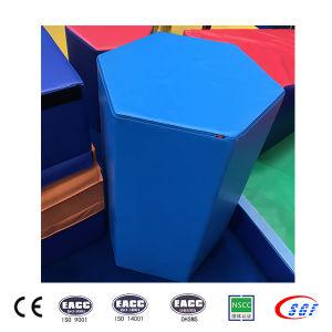 High Grade PVC Shape Gymnastics Mats New Sports Mat pictures & photos