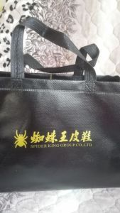 Promotion Gift Recycle Ultrasonic Laminated Non Woven Handbag pictures & photos