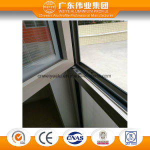 65 Series Heat Insulation Aluminium Swing Window with Inside Glass Shutter pictures & photos