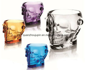 OEM Acrylic Beer Wine Ice Bucket with Skull Shape pictures & photos