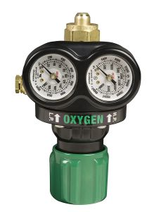 Medium Capacity Single Stage Oxygen Regulator, 5-125 Psig Delivery Range, Cga 540 Inlet Connection pictures & photos