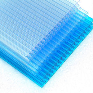 Cheap Price U Lock Honeycomb Polycarbonate Sheet pictures & photos