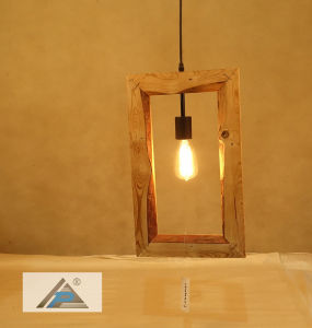 Pine Wood Pendant Light with Simple Design (C5006145-1) pictures & photos