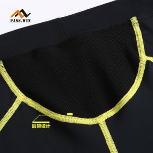 Men Compression Cyclling Pants Short Leggings Quicky Drying Workout Pants pictures & photos