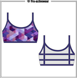 Fitness Clothing OEM Factory Customized Sexy Yoga Wear Gym Bra pictures & photos